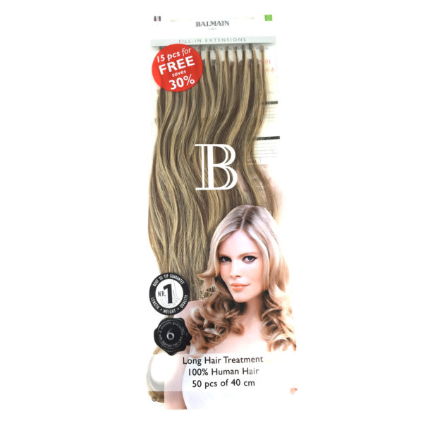 Extension cheveux à la kératine Balmain
