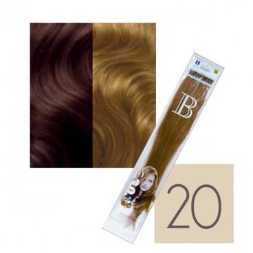 100Extensions Kératine Cheveux Naturels balmain N°20  40 CM