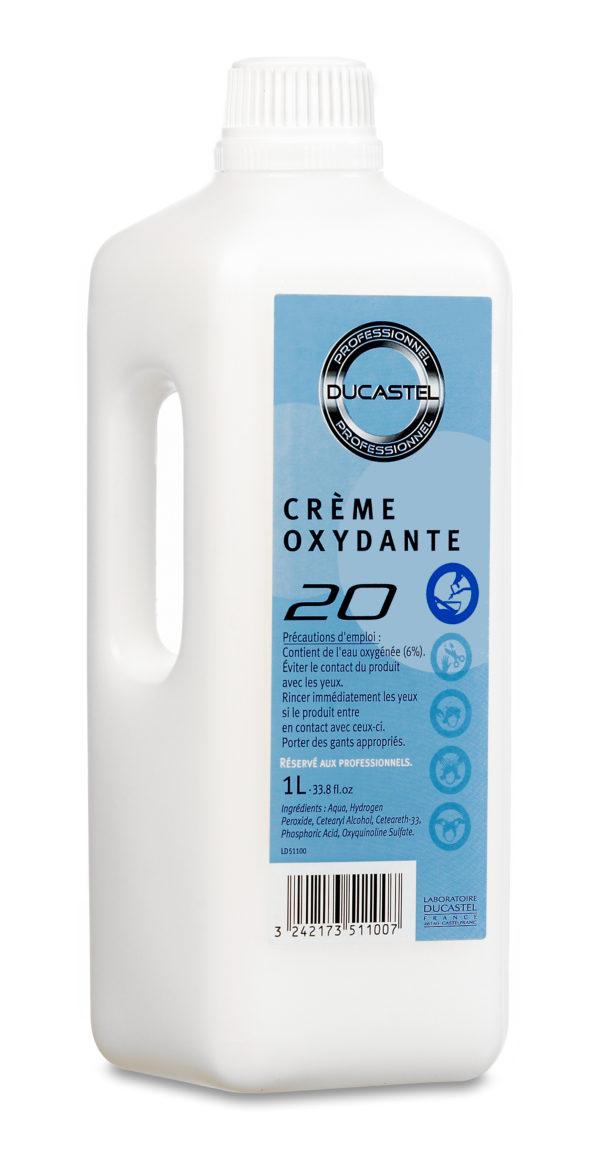 Crème oxydante 20 vol Ducastel 1L