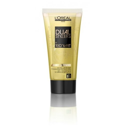 DUAL STYLERS BY TECNI.ART CREME HYDRATANTE BOUNCY AND TENDER Tube 150ML