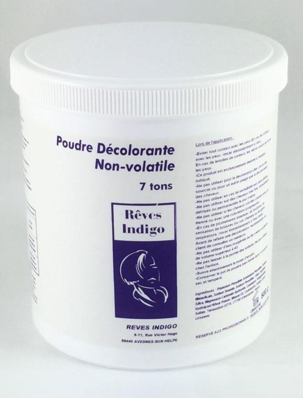 Poudre décolorante non-volatile jusqu'à 7 tons 500 g