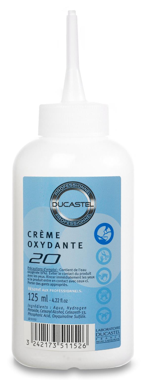 Crème oxydante 20 vol Ducastel 125ml