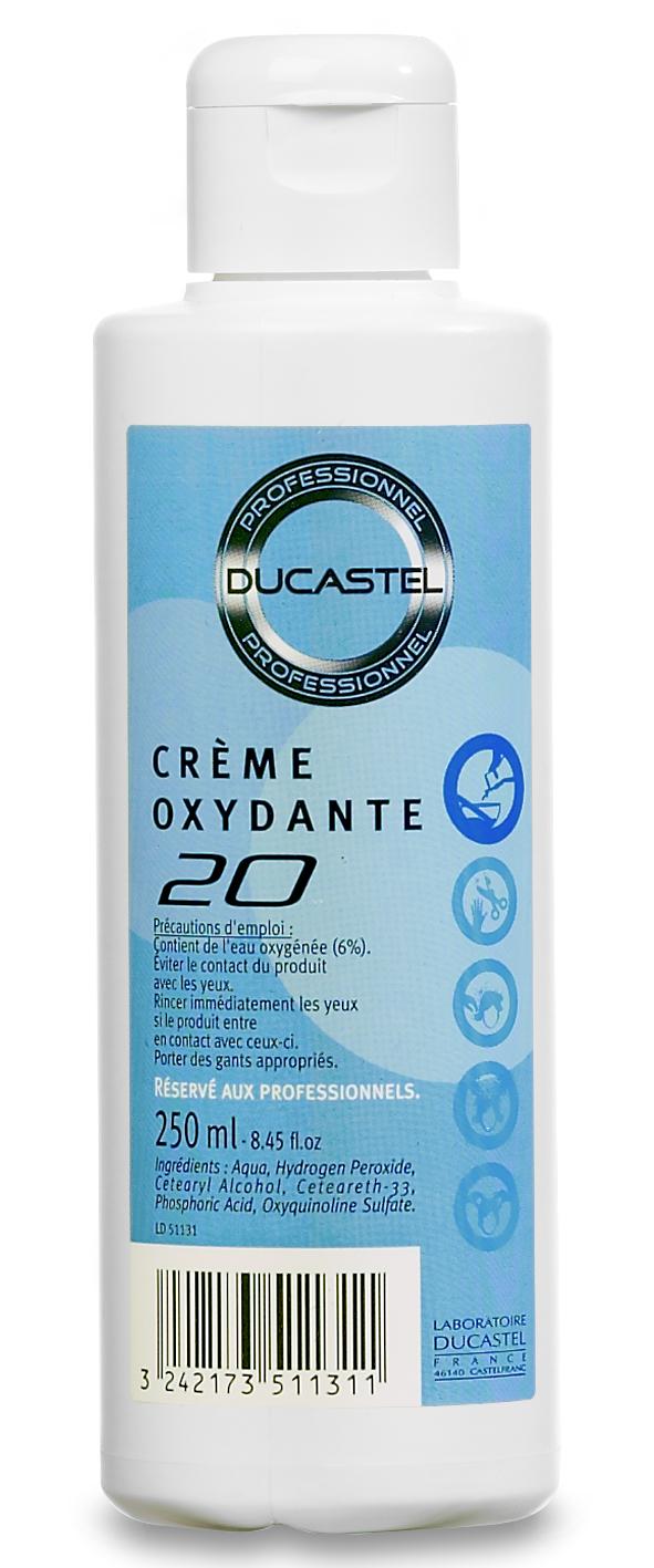 Crème oxydante 20 vol Ducastel 250ml