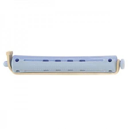 bigoudis permanente long 12pcs gris blue 12mm