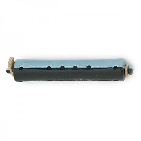 bigoudis permanente long 12pcs gris noir 16mm