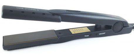 Fer à lisser HAIR STYLING 3 - 230° - 60W - Plaques 92x32mm - Régulateur de température digital - Idéal pour le lissage brésilien