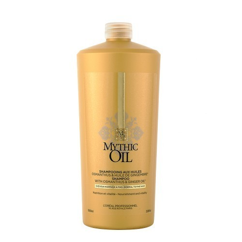 L'Oreal Mythic Oil Shampooing Aux Huiles Cheveux Fins 1000ml
