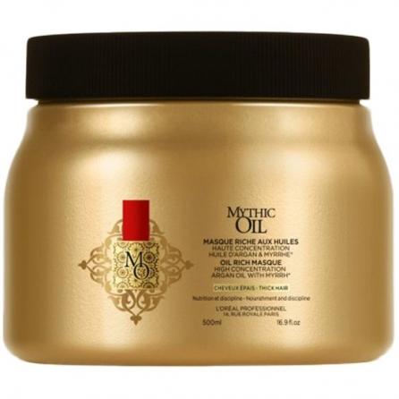 Masque Mythic Oil Cheveux Epais 500ml par L'oréal
