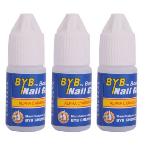 3X Nail Art colle