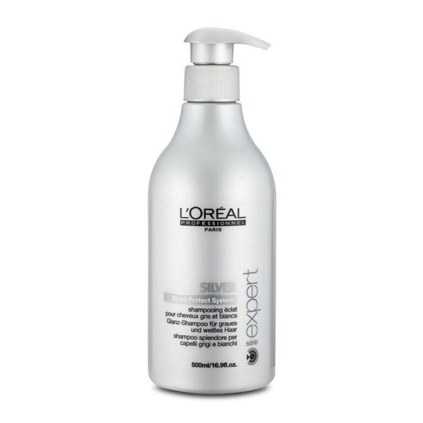 SE SILVER / Serie Expert - Shampoing éclat pour Cheveux Gris et Blancs