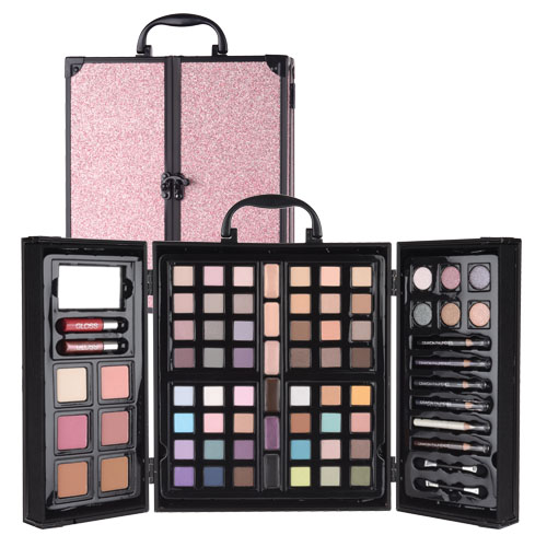 Valise maquillage 74 couleurs PARISAX