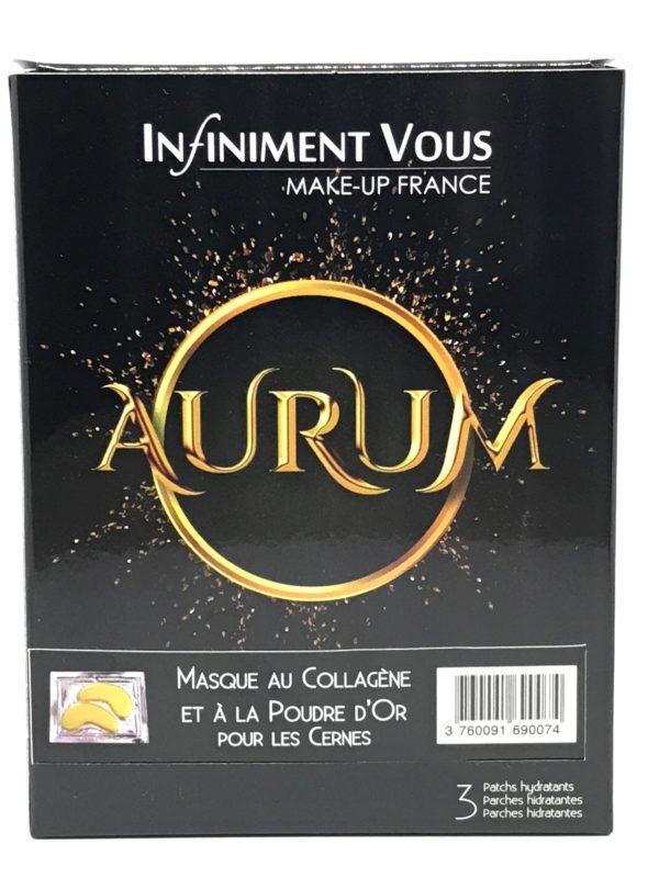 Masque au collagène et à la poudre d'Or pour les cernes - Aurum